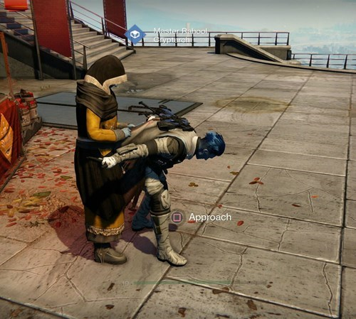 bent over,destiny,cryptarch