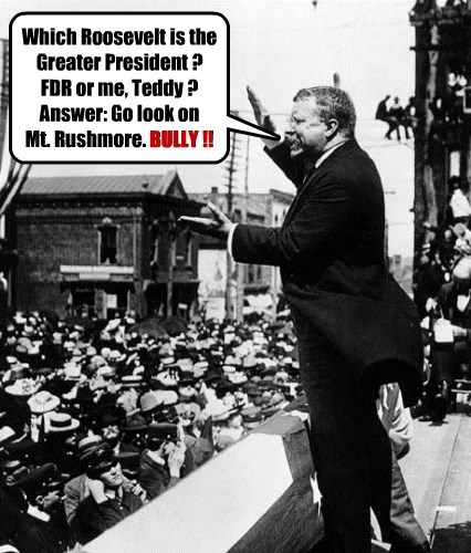 Little Known Fact: Teddy Roosevelt owned a Crystal Ball.