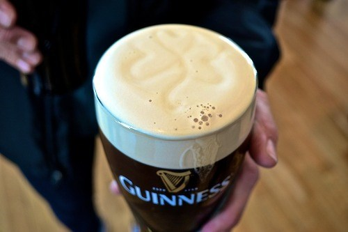 Now That's a Pint Poured With Skill