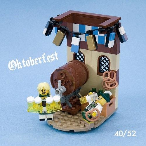 Even LEGO Loves Oktoberfest
