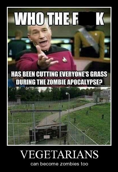 funny,vegetarians,zombie,wtf