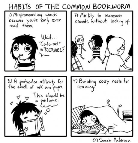 Habits of The Common Bookworm