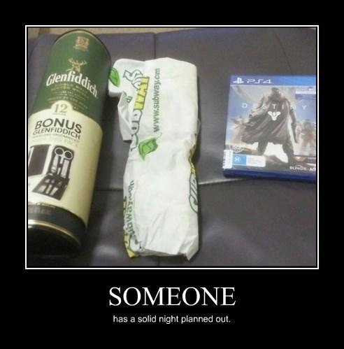 destiny,funny,video games,Subway,scotch