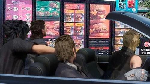 Final Fantasy XV Sidequest