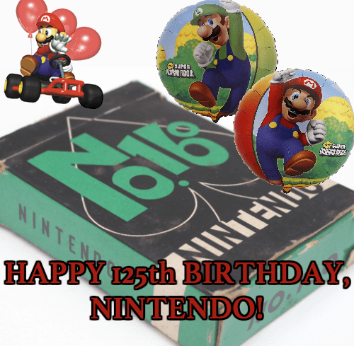 Nintendo Turns 125 Today!