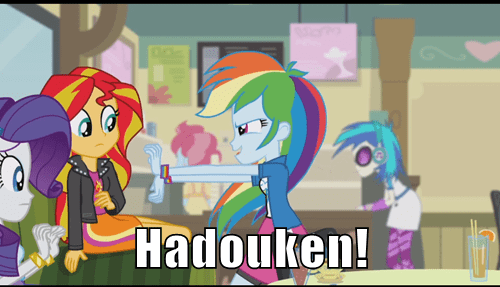 Dashie's Been Playing Street Fighter