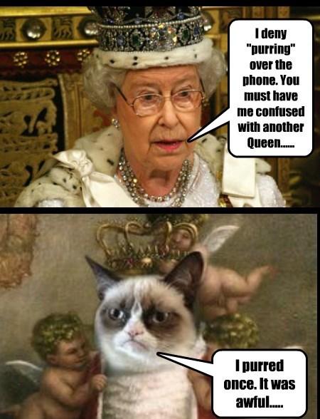 Royal Purrrrfection