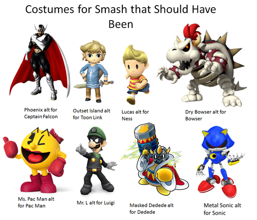 We Need These Alternate Costumes