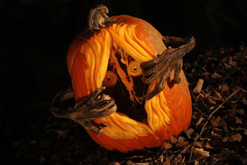 Watch Out, the Cool Pumpkin Carvings Are Coming...