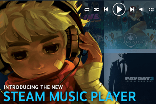 Tired of Game Soundtracks? Steam's Letting You Listen to Whatever You Want