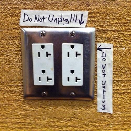 monday thru friday,warning,outlet