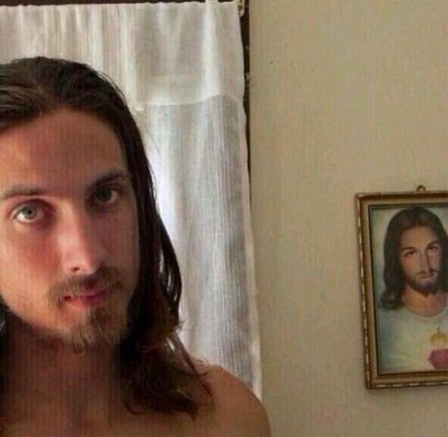 The Lord takes Selfies too?