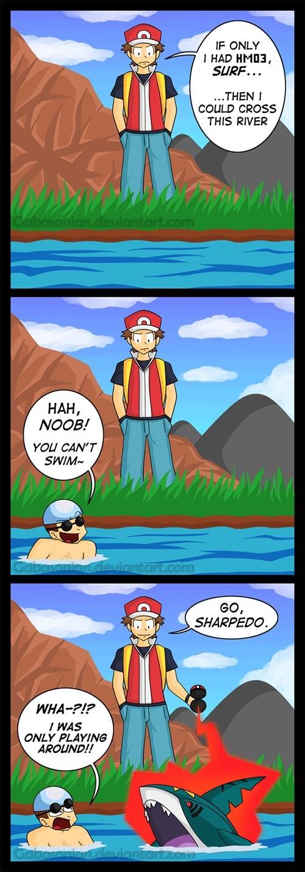 Can Your Pokémon Trainer Swim?