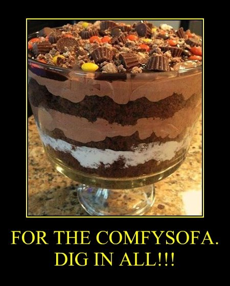 FOR THE COMFYSOFA. DIG IN ALL!!!