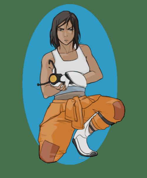 Avatar Korra Finds Aperture Labs