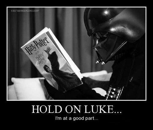 Vader Loves a Good Story