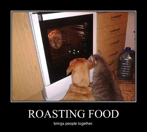 ROASTING FOOD