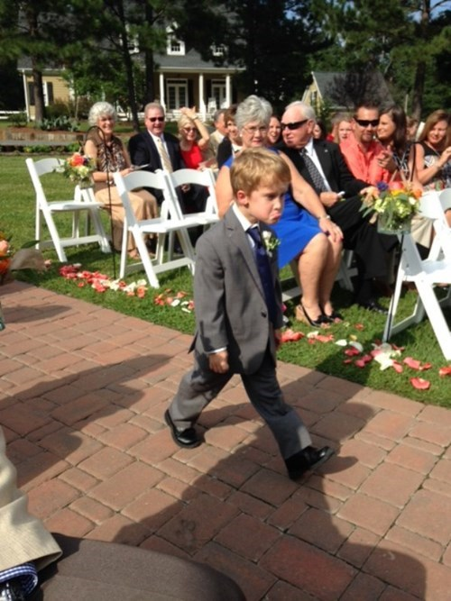 "Kids Don't Really Dig the Whole ""Wedding"" Thing"