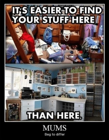 messy room,funny,moms,organized