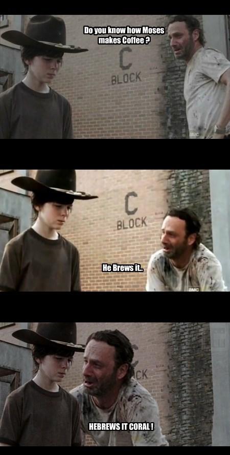 puns,coffee,brews,The Walking Dead