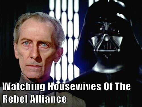 Watching Housewives Of The Rebel Alliance