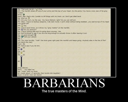 Barbarians They're Insane