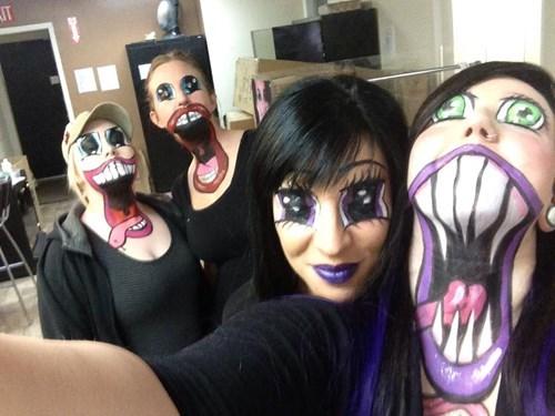 Nightmare Fuel: Makeup Edition