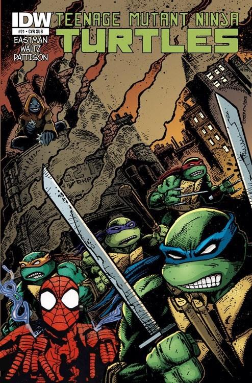 TMNT,comics,Spider-Man
