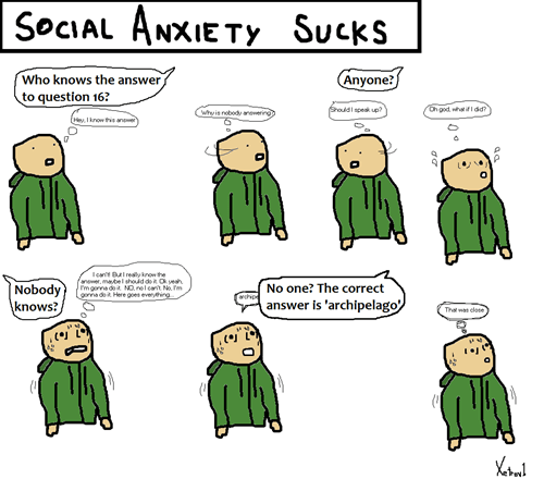 Social Anxiety Is Horrible