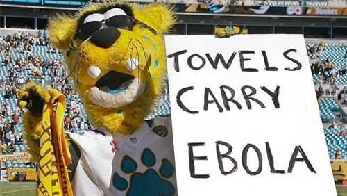 The Jaguars Made an Apology for This Ebola Joke During Their Game Against the Steelers