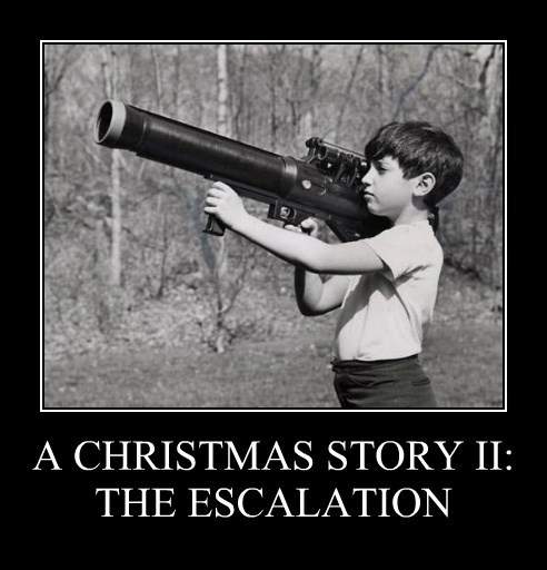 A CHRISTMAS STORY II: THE ESCALATION