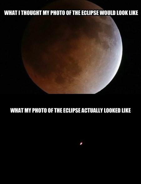 Lunar Photography FAIL