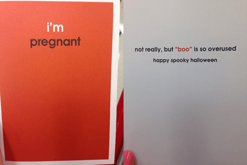 The Worst Halloween Card to Give Your Boyfriend