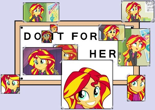 Sunset Shimmer: The Light of My Life