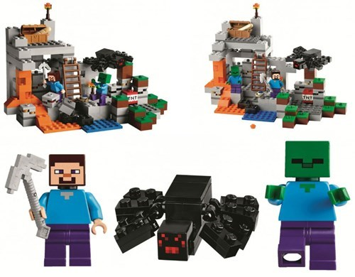 Pictures of New Minecraft LEGO Sets Due Out in November Found Online