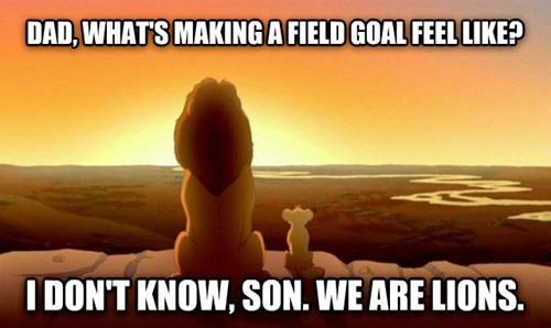 1/9 on Field Goals 40+ Yards This Season