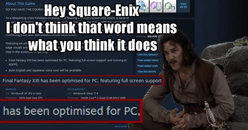 final fantasy xiii,PC,square enix
