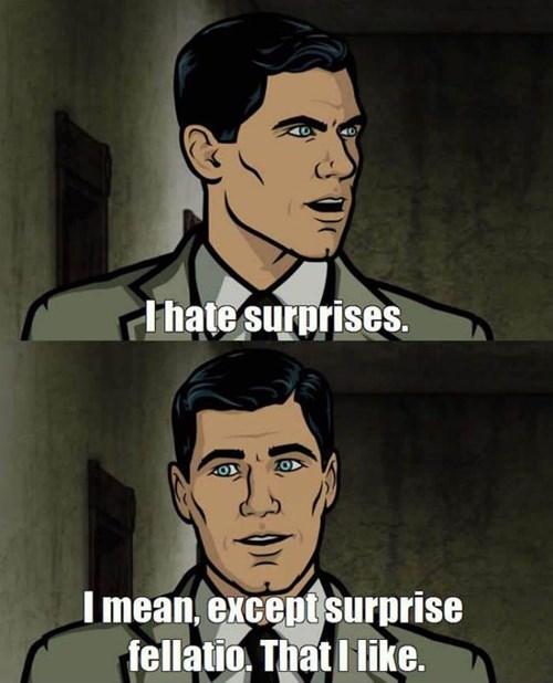 That's an Acceptable Surprise