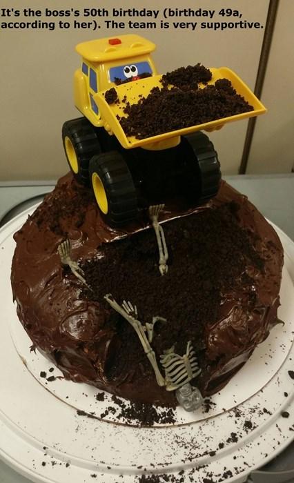 birthday,cake,boss,monday thru friday,g rated
