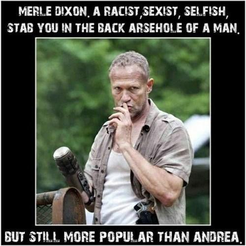 andrea,The Walking Dead,merle dixon