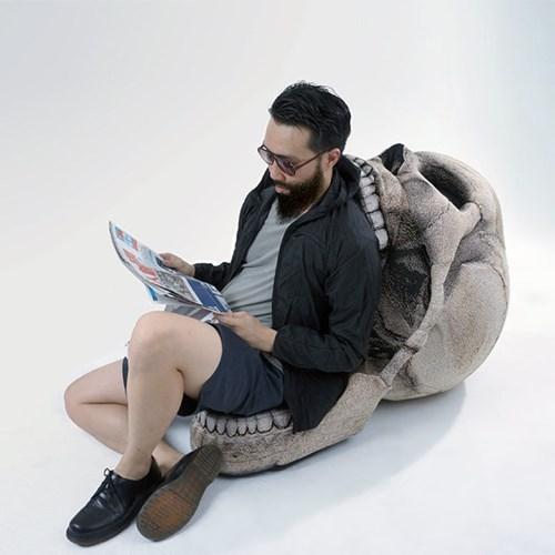 chair,design,skull