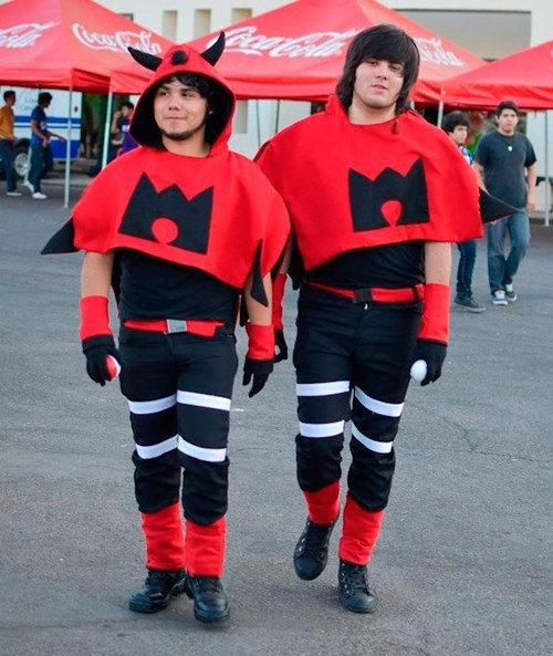 Team Magma Cosplay