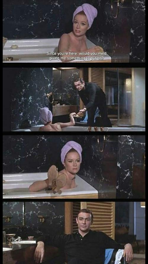 James Bond...He's Sort of an Ass