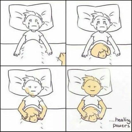healing,bed,Cats,web comics