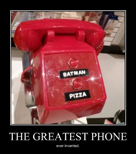 batman,funny,phone,pizza