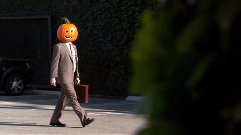 When You're Pumped for Halloween But You Still Have to Stay Professional