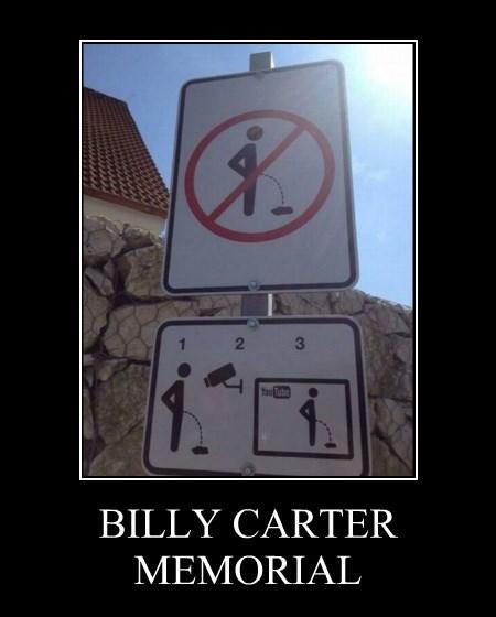 BILLY CARTER MEMORIAL