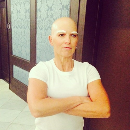 Halloween Costume of the Day: This Woman Used Her Cancer to Make the Best Costume for a Party