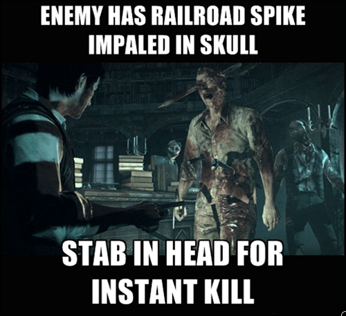 the evil within,video game logic