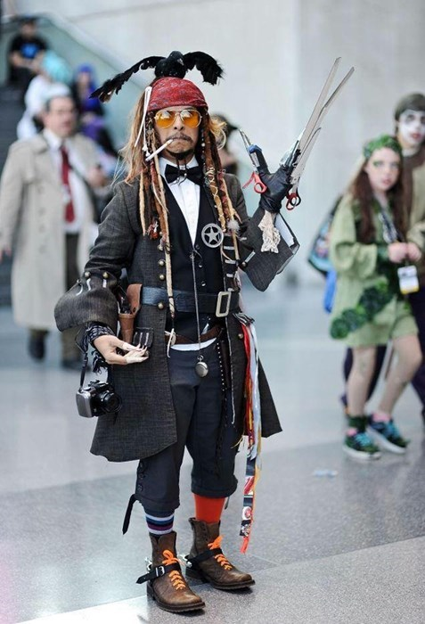 Every Johnny Depp Character in One Cosplay